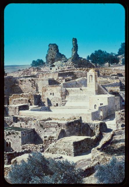 Mount of Olives, Bethphage and Bethany. Bethany, Tomb of Lazarus. John 11:38