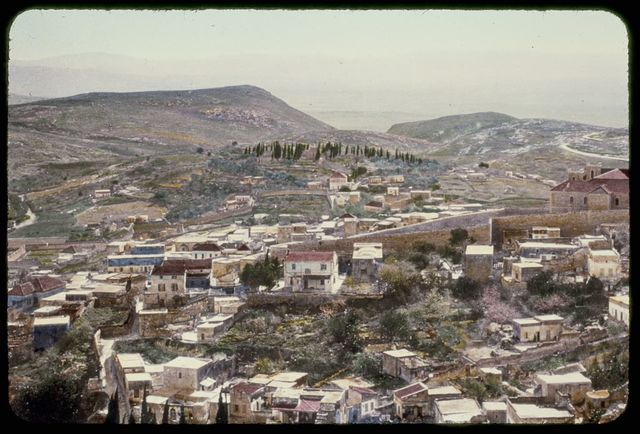 Northward from Jerusalem. Nazareth and Hill of Precipitation. Luke 4:28-30