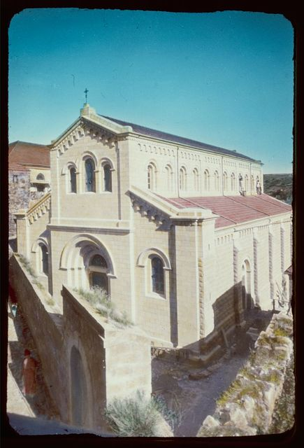 Northward from Jerusalem. Nazareth, Chapel of the Carpenter Shop. Matt. 13:55, Mark 6:3