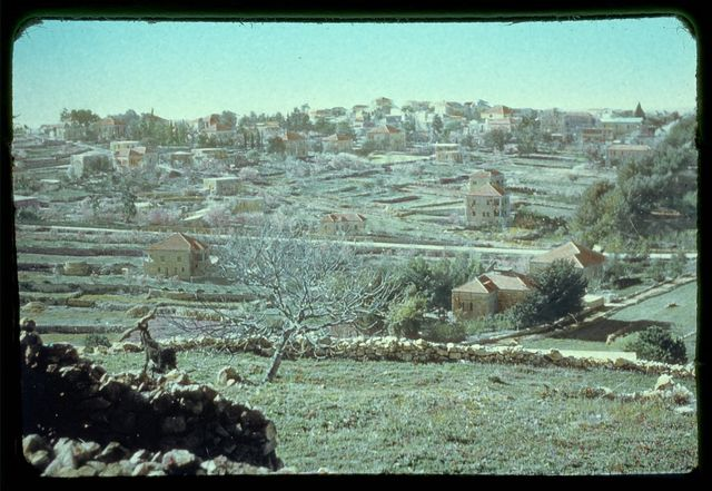 Northward from Jerusalem. Ramallah