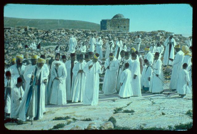 Northward from Jerusalem. Samaritan Passover pilgrimage on Mt. Gerizim