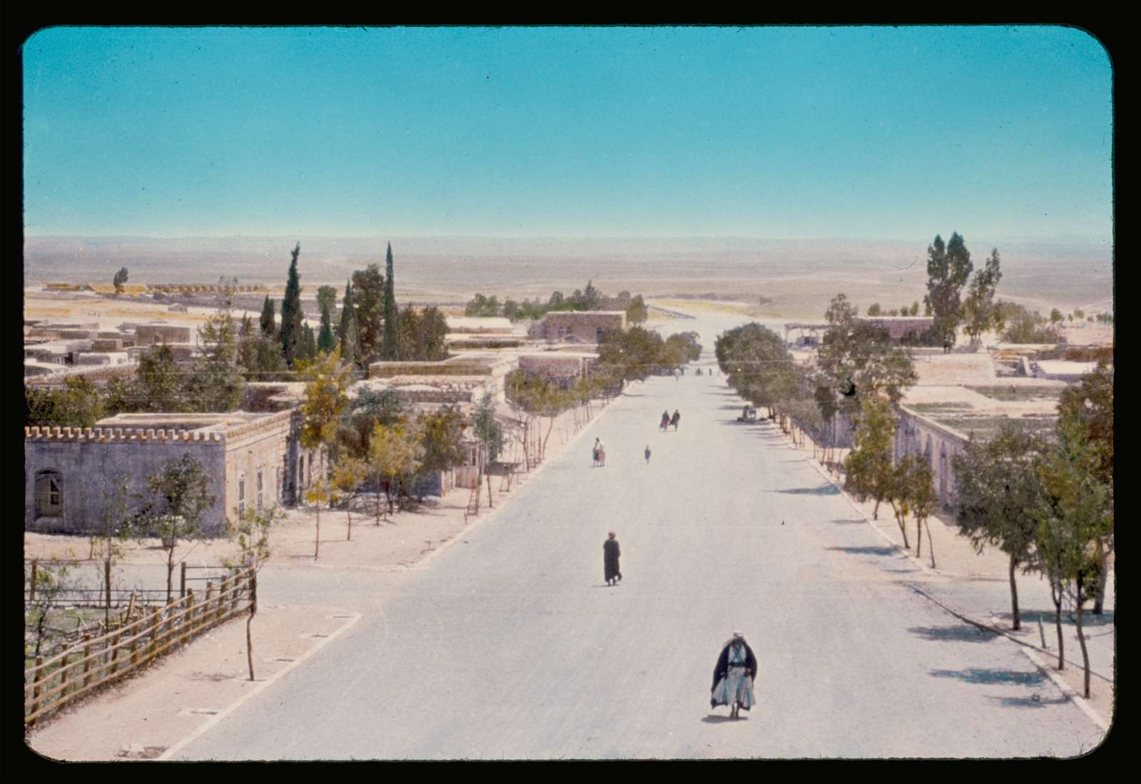 Southern Palestine, Hebron, Beersheba and Gaza area. Beersheba, the main street