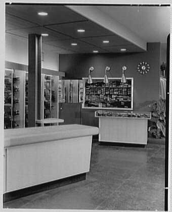 The Manhattan, business in Cumberland, Maryland. Hat department