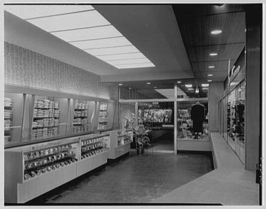 The Manhattan, business in Cumberland, Maryland. Interior, to entrance