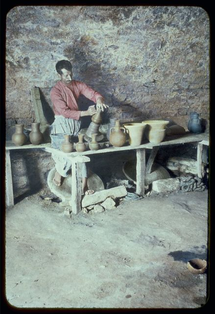Types and character, etc. The potter and the potter's wheel