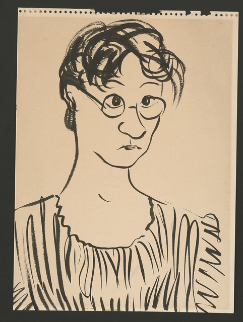 [Dorothy McKay with glasses]