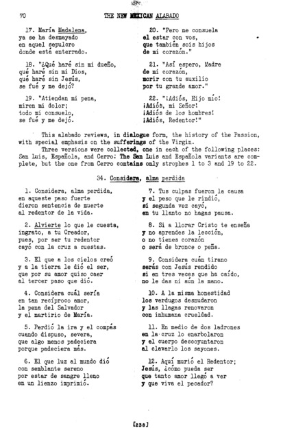 Escuchen atentos (Listen, Attentive Children) [textual transcription]