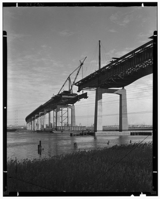 New Jersey Turnpike. Hackensack Run bridge II