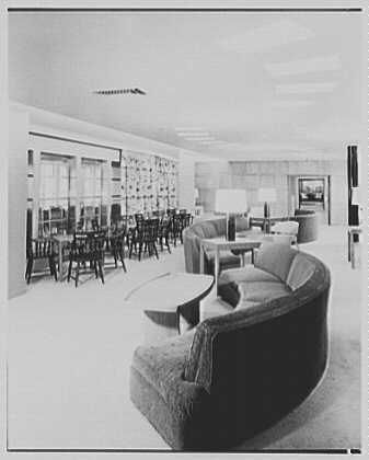 S.S. Independence, American Export Lines. Independence lounge I