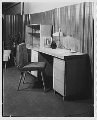 Berge-Norman Associates, business at 45 E. 28th St., New York City. Setup IV