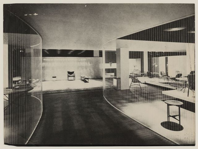 [Good Design Exhibition of 1952. Installation at the Museum of Modern Art, New York City]