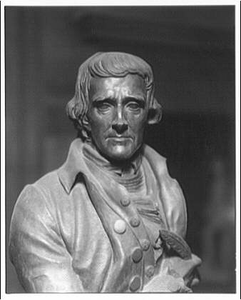 Statues and sculpture. Thomas Jefferson bronze II