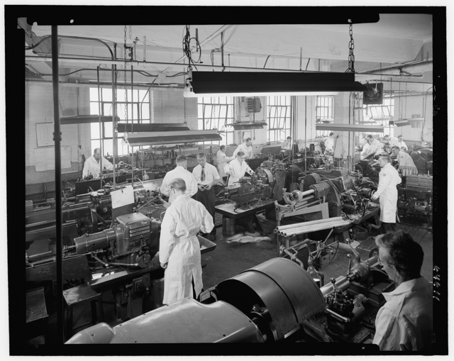 F & R Machine Works, 44-14 Astoria Blvd., Long Island City, New York. General view from balcony
