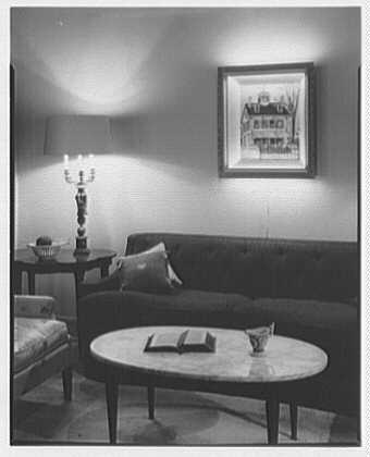 Lightolier picture frames, at Charak. Setup I
