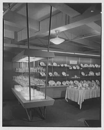 Ludwig Baumann-Spears, business at 35th St. and 8th Ave. Glassware department