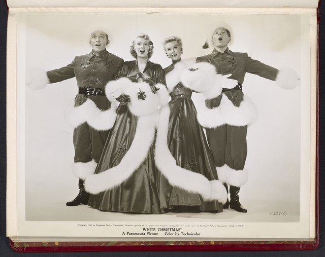 "[ Bing Crosby, Rosemary Clooney, Vera-Ellen and Danny Kaye - from ""White Christmas""]"