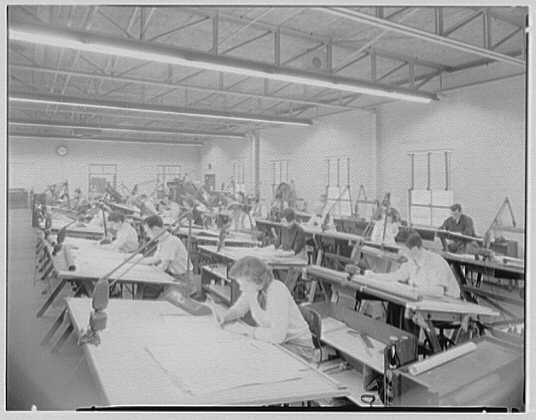 Corydon M. Johnson Co., Bethpage, Long Island. Technical illustration