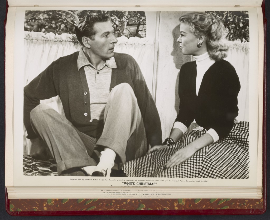 Danny Kaye And Rosemary Clooney Scene From White Christmas Picryl Public Domain Image