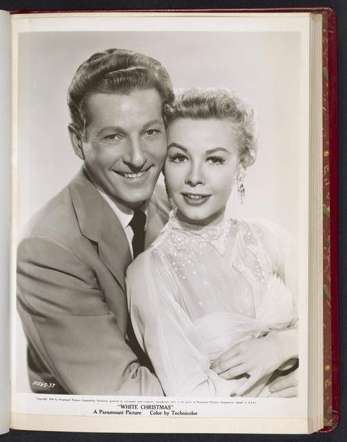 "[ Danny Kaye with Vera-Ellen - scene from ""White Christmas""]"