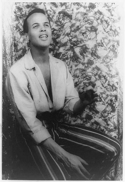 [Portrait of Harry Belafonte, Almanac]