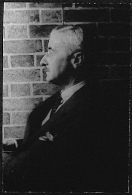 [Portrait of William Faulkner]