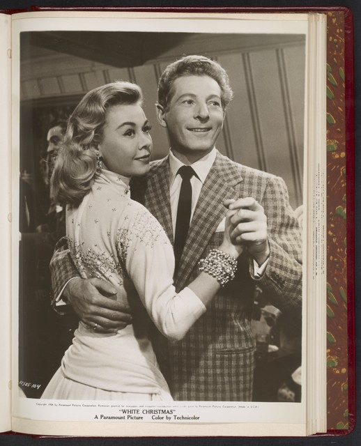 "[ Rosemary Clooney and Danny Kaye, dancing - scene from ""White Christmas""]"