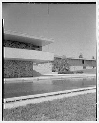 Fairchild Aircraft, Hagerstown, Maryland. Across pool