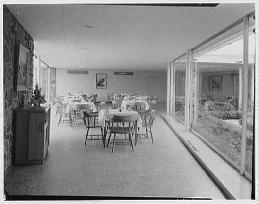 Fairchild Aircraft, Hagerstown, Maryland. Cafeteria