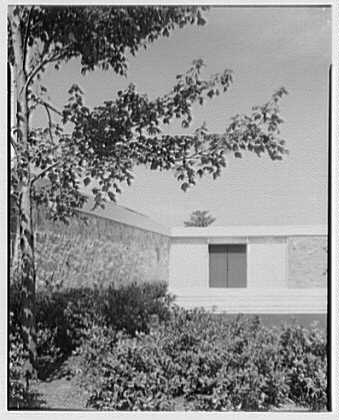Fairchild Aircraft, Hagerstown, Maryland. Entrance through trees