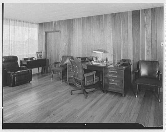 Fairchild Aircraft, Hagerstown, Maryland. Mr. Boutelle's office II