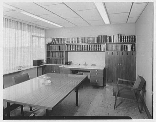 Fairchild Aircraft, Hagerstown, Maryland. Mr. Cleveland's office