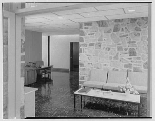 Fairchild Aircraft, Hagerstown, Maryland. Reception room