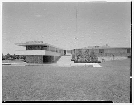 Fairchild Aircraft, Hagerstown, Maryland. View to cantilever
