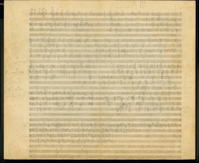 [Le Marteau sans maître, Cantata for Contralto, Flute, Viola, Guitar, Vibraphone, and Percussion, 1953-1955]