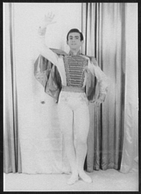 [Portrait of Oleg Briansky, as Prince Ianilo in The Merry Widow]