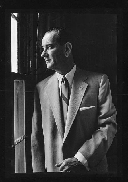 Sen. Lyndon B. Johnson, Senate majority leader / [TOH].