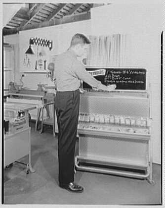Burson & Marstellar at Fishman's, New Preston, Connecticut. Reynolds aluminum