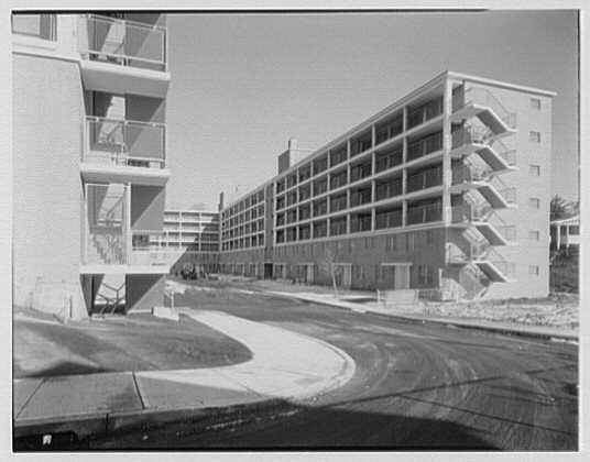Vidal Apartment Houses, Stamford, Connecticut. Exterior I