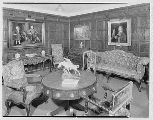 Hirschl & Adler Gallery, 21 E. 67th St., New York. Panelled room I