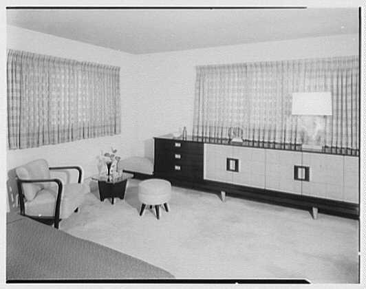 Mr. and Mrs. Gustav Jaff, residence on Atkinson Rd., Rockville Centre. Bedroom II