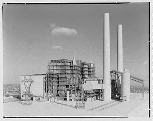 Public Service of New Jersey. Bergen generating station model II