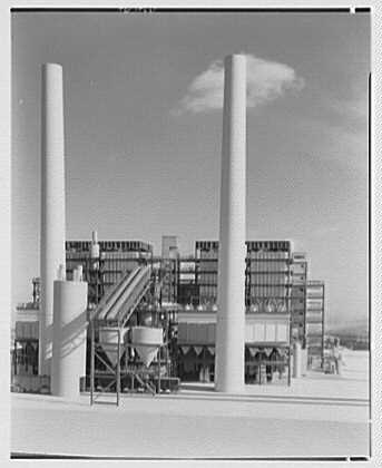 Public Service of New Jersey. Bergen generating station model IV