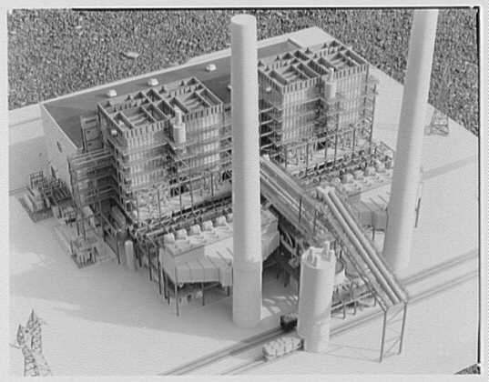 Public Service of New Jersey. Bergen generating station model IX