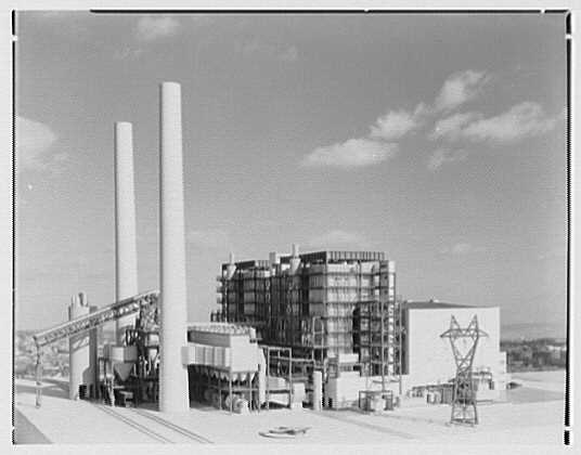 Public Service of New Jersey. Bergen generating station model V