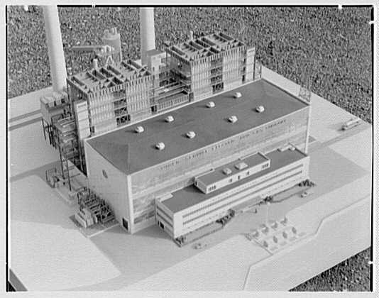 Public Service of New Jersey. Bergen generating station model VIII