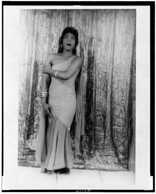 "[Portrait of Gloria Davy, as Aida, Act I, Scene I, ""Ritorna Vincitor""]"