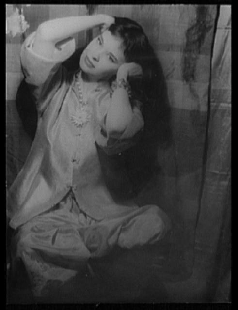 [Portrait of Gloria Vanderbilt]