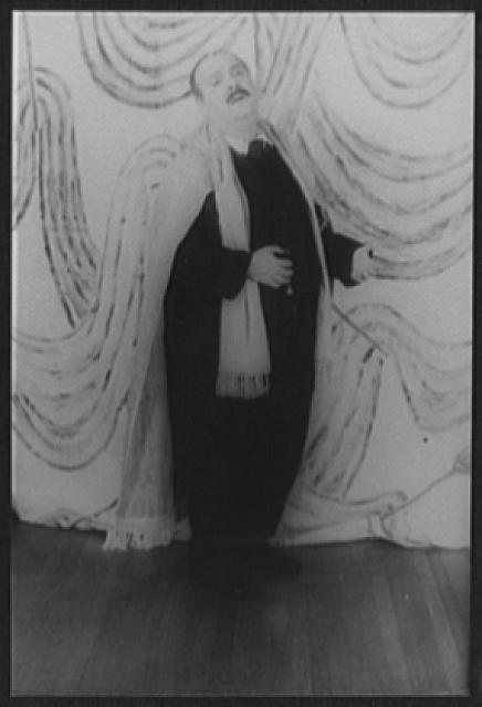 [Portrait of Zero Mostel, as Leopold Bloom in Ulysses in Night [...]]