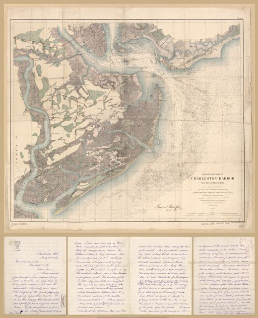 Preliminary chart of Charleston Harbor and its approaches /