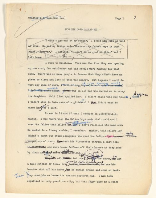 Alan Lomax Collection, Manuscripts, Rainbow Sign, 1959